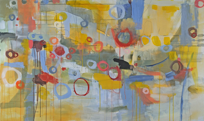 laurie breen--contemporary mixed media still-life and abstract paintings & art for children's spaces